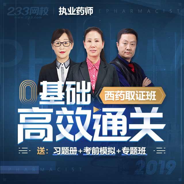 2019执业药师取证班(西药)